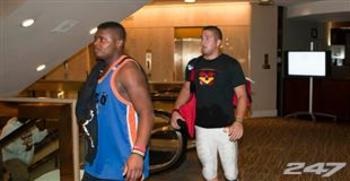 Pinner is on the left (photo from 247sports.com)