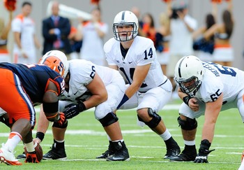 Christian Hackenberg put an end to the Penn State quarterback battle.
