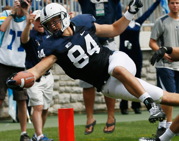 Matt Lehman's leg injury is not good for the Nittany Lions.