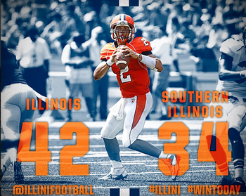 Photo Credit: @IlliniFootball Twitter feed