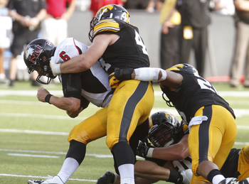 Iowa struggled on Saturday