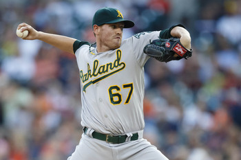 Straily's inconsistency may cost him a chance if the A's make the postseason.