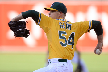 Sonny Gray's August was largely feast or famine.