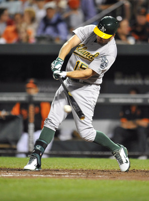 Smith's batting woes have cost him playing time with the A's.