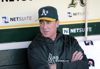 Manager Bob Melvin has done another wonderful job in 2013.