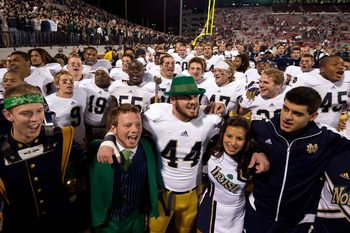 Last season Notre Dame played four true road games, winning all four. Saturday night, the Irish face their first road test of the season when they travel to Ann Arbor to face Michigan.