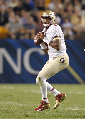 New Florida State starting quarterback Jameis Winston at Pittsburgh on Sept. 2.