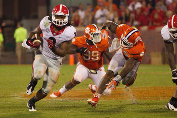Georgia running back Todd Gurley against Clemson.