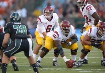 USC sophomore quarterback Cody Kessler under center against Hawaii.
