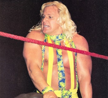 Jeff Jarrett (Photo by Wrestling World)