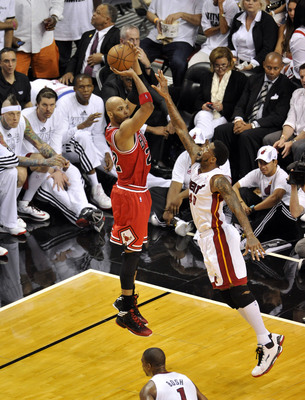 Taj Gibson has to improve his jump shot.