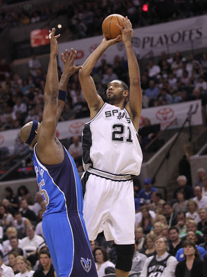 Erick Dampier had more than a few run-ins with Spurs' great Tim Duncan.