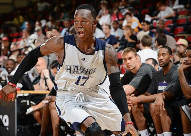 Coming off of his impressive Summer League run, Dennis Schröder looks to  <br>Garrett Ellwood/Getty Images