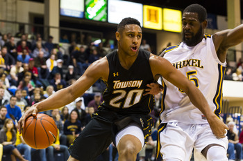Georgetown transfer Jerrelle Benimon helped Towson win 17 more games than 2011-12 and was named the Colonial player of the year.