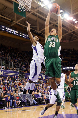 Cal Poly big man Chris Eversley averaged 15.4 points and 7.0 rebounds last year.