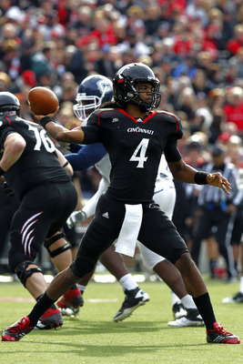 Cincinnati senior quarterback Munchie Legaux.