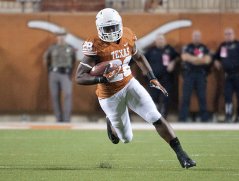 Texas junior running back Malcolm Brown.