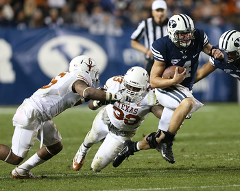 Taysom Hill broke many burnt orange hearts last night