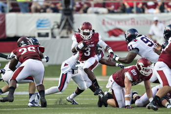 Arkansas RB Alex Collins is a beast