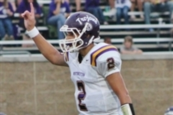 Oklahoma State quarterback commit Mason Rudolph (Rock Hill, S.C.) launched five touchdowns to lead his team to a win.