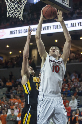 Mike Tobey will look to play more minutes for Virginia this season after coming off the bench as a freshman.