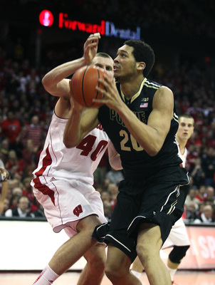 Purdue's A.J. Hammons averaged 10.6 points and 6.0 rebounds as a freshman.