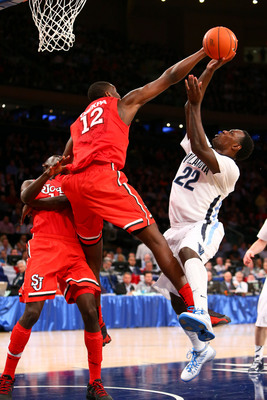 St. John's Chris Obekpa had 133 blocks as a freshman.