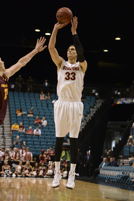 Dwight Powell shot a career-best 45.5 percent from distance last year.