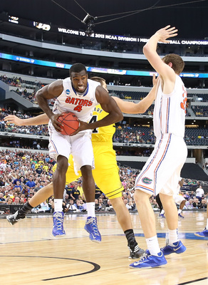 Patric Young has led Florida to three straight Elite Eights.