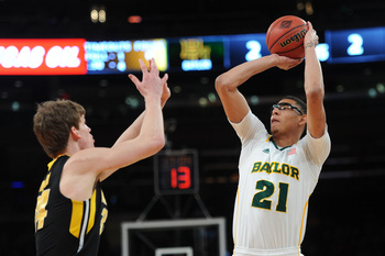 Isaiah Austin shoot 33.3 percent from distance as a freshman.