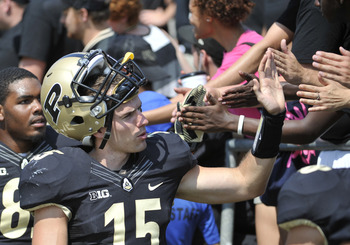 Purdue could benefit from getting the crowd into the game Saturday night at Ross-Ade Stadium.