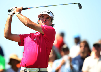 Bubba Watson is No. 40 in the FedEx Cup standings.