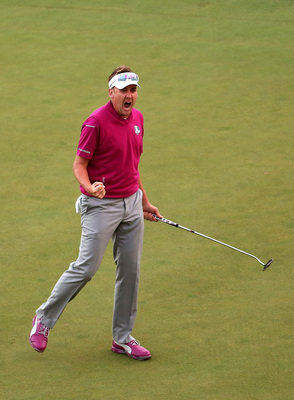 Ian Poulter was a beast at the 2012 Ryder Cup.