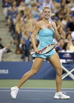 Amazing qualifier Camila Giorgi makes a late run at the 2013 U.S. Open.
