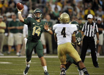 Bryce Petty ranks second in the country in passing efficiency at 249.5.