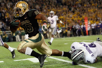Lache Seastrunk's emergence as a feature back adds another dimension to Baylor's offense.