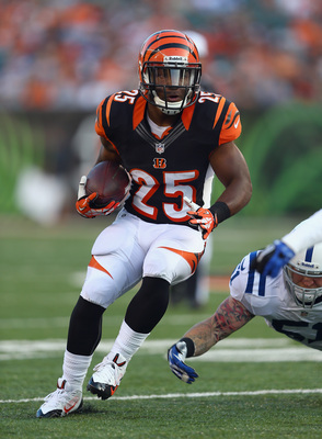 Bernard is a great buy-low option in PPR leagues