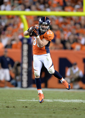 Wes Welker could see his numbers vary greatly week-to-week.