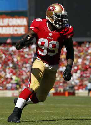 The 49ers need a big game from Aldon Smith this Sunday night.