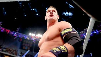The Leader of the Cenation may be above the world heavyweight championship