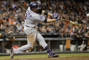 Michael Cuddyer would have been a great fit in left field for the Giants.
