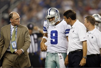 Injuries to Tony Romo are becomming an annual tradition in Dallas.