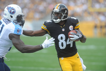 There are a lot of Steelers to worry about, but Brown is not one of them.