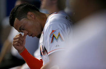 Giancarlo Stanton has a lot to think about when it comes to his future with the Miami Marlins.