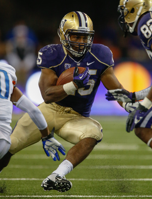 Washington junior running back Bishop Sankey against Boise State