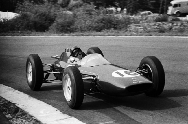 Clark first won at the 1962 Belgian Grand Prix