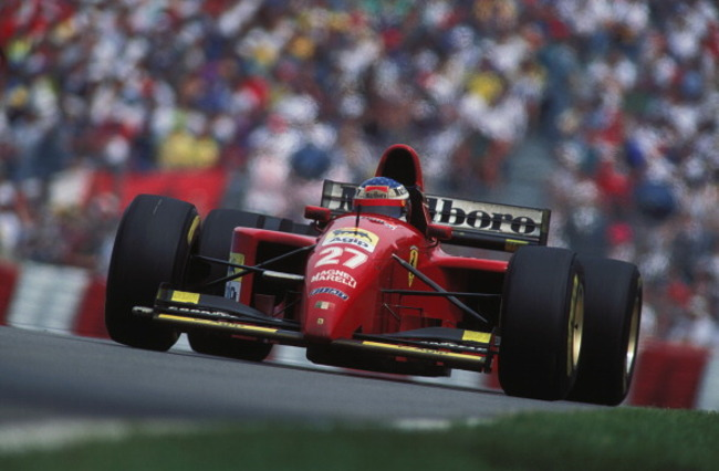 Alesi's first and only F1 win came in Montreal. Rainer Schlegelmilch/Getty Images