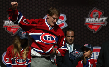 Montreal Canadiens 2013 first-round pick Michael McCarron.