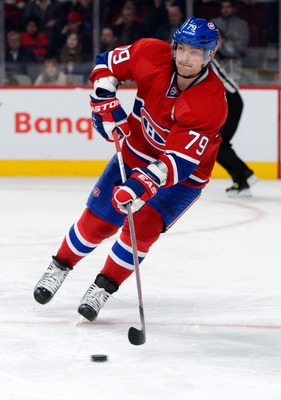 Andrei Markov needs to improve defensively.