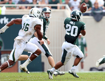 Michigan State RB Nick Hill